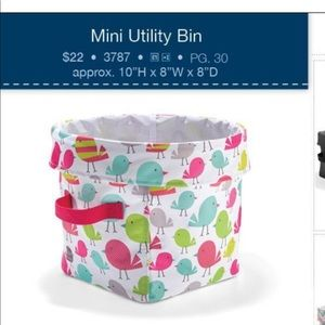 thirty-one Storage & Organization - Khaki dot mini utility bin